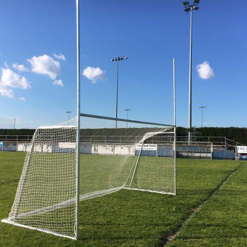 Juvenile Gaelic Goal 80mm Aluminium Extrusion – 3.66m x 1.83m (12'x6′)