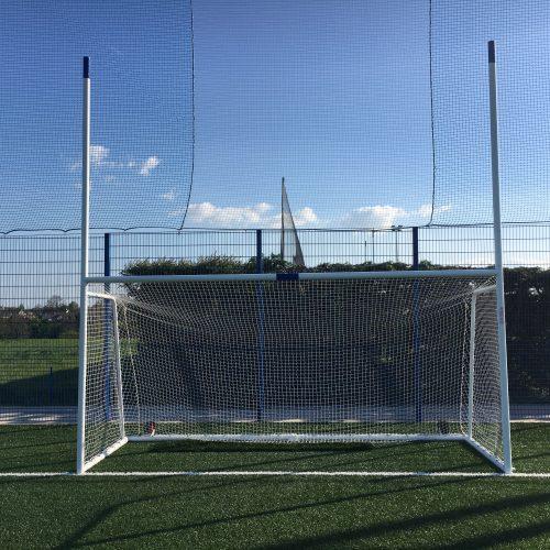Juvenile Gaelic Goal – 3.66m x 1.83m (12'x6′) Aluminium Goal
