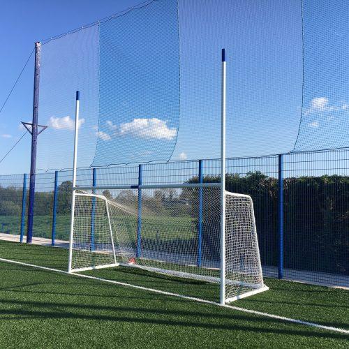 Juvenile Gaelic Goal 80mm Aluminium Extrusion – 4.57m x 2.13m (15'x7′)