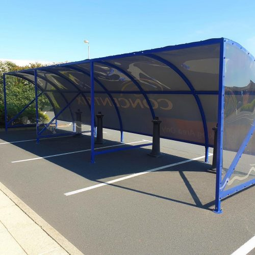 Bespoke Cycle Shelters to Customer Spec