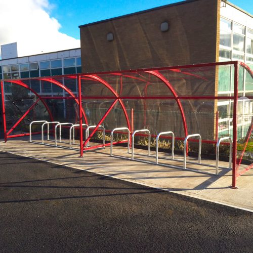 20 Space Kylemore Cycle Shelter and Bike Stands
