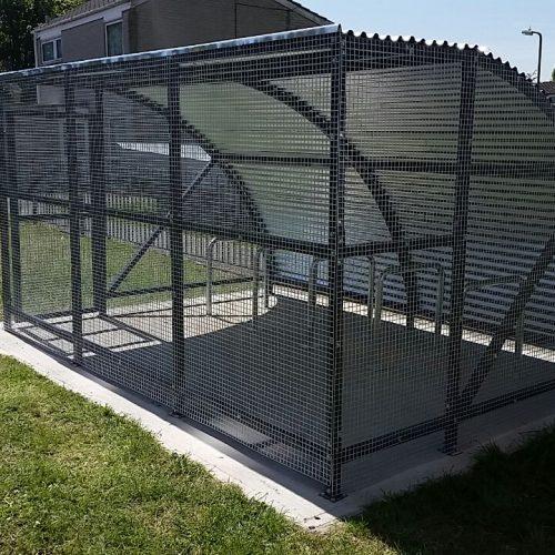 Kylemore Mesh & Steel Extended Front Bike Enclosure