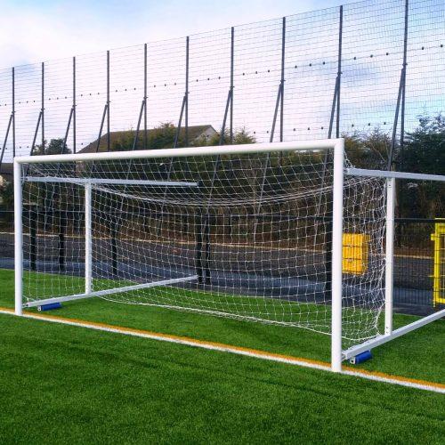 Retractable Fence Folding Soccer Goal – 4.88m x 1.83m