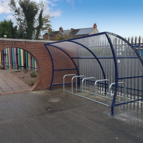 Corrib Bicycle Shelter with Bike Stands