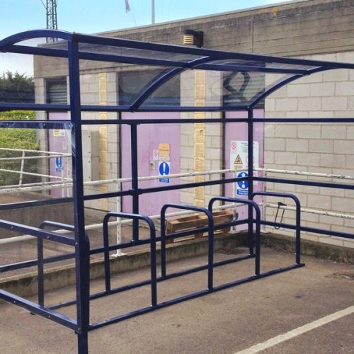 Kinsale Cycle Shelter with Bike Stands