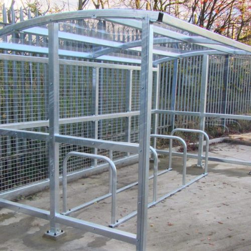 Navan Bicycle Shelter and Bike Stands