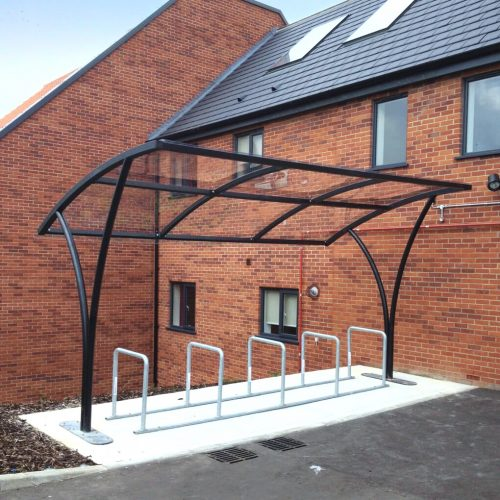 10 Space Arch Cycle Shelter